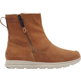 Sorel Explrr Zip Boots Women camel brown